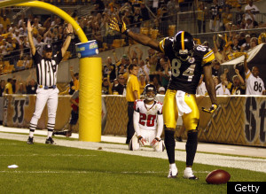 Antonio Brown Steelers Preseason