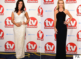 Susanna And Amanda Bring Some Old School Hollywood Glamour To The TV Choice Awards