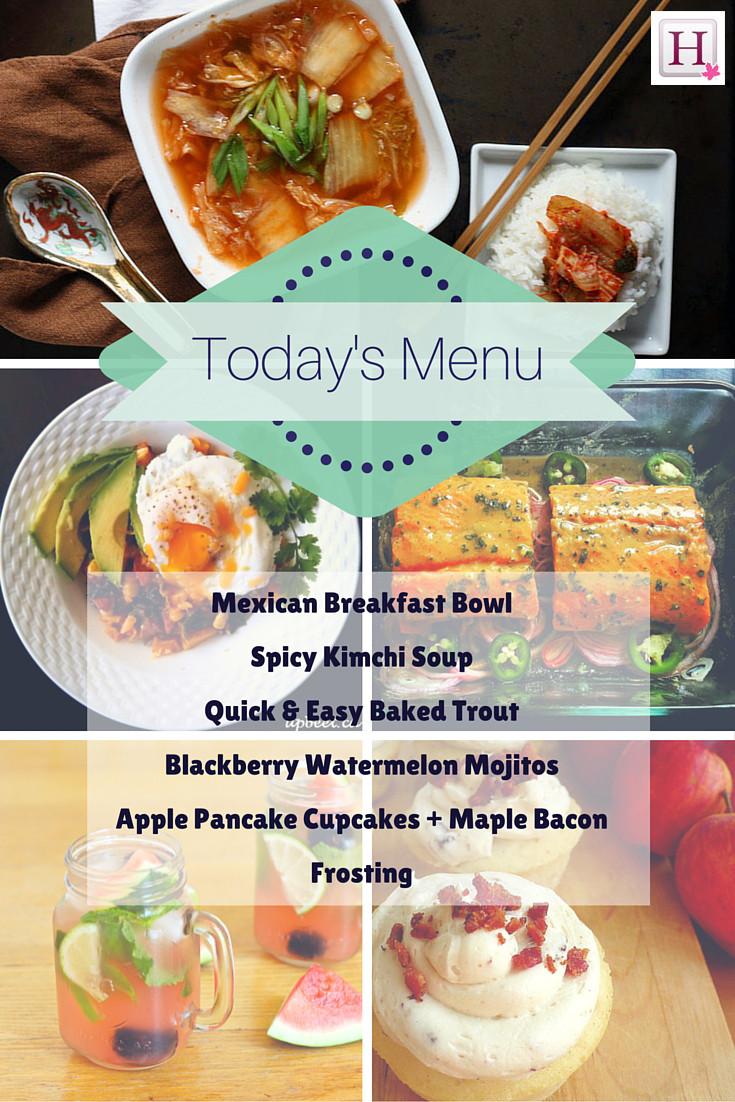 tuesday menu