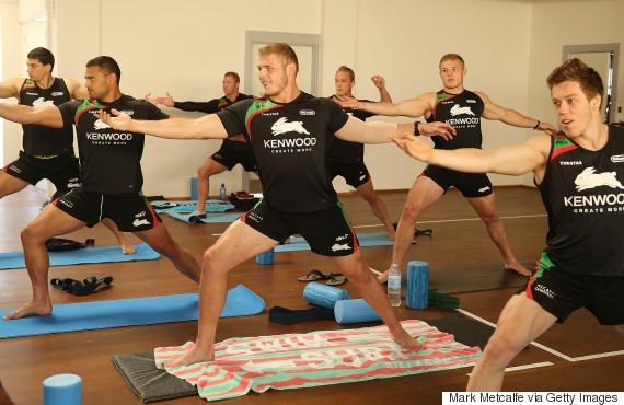 rugby yoga