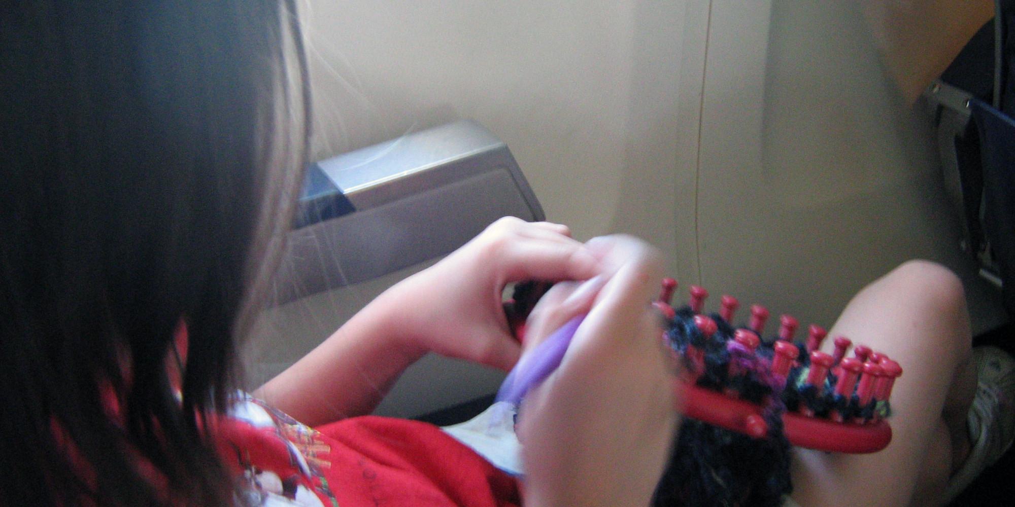 flat loom knitting instructions
