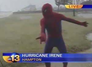 Spider Man Hurricane Irene