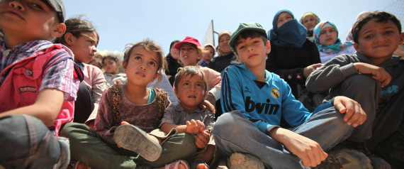 CHILDREN REFUGEE CAMPS