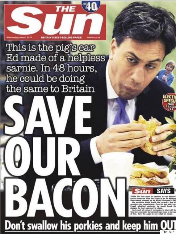 ed miliband sandwich