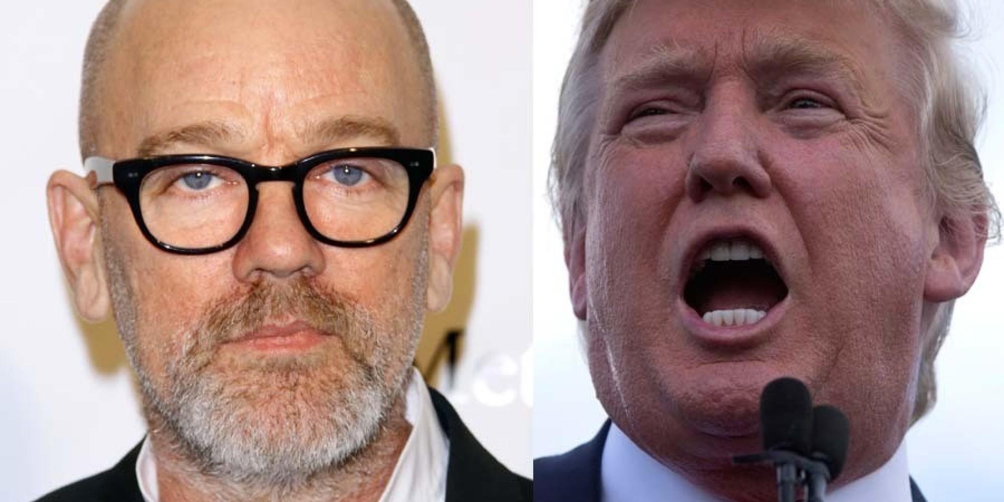 REM Singer Michael Stipe Tells Donald Trump To 'Go F**k ...