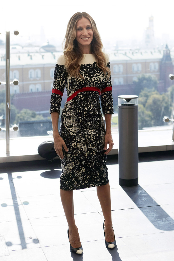 Sarah Jessica Parker In Prabal Gurung: Look Of The Day ...