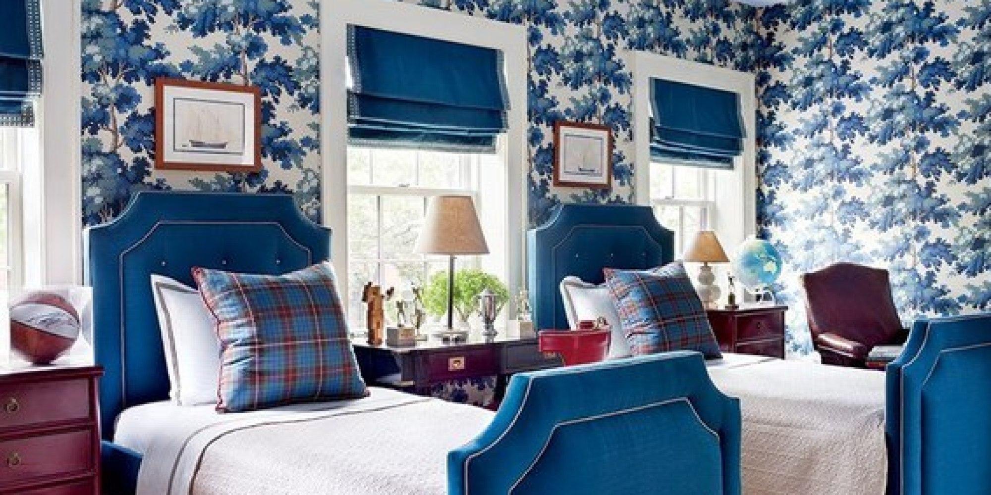 beautiful blue bedrooms huffpost