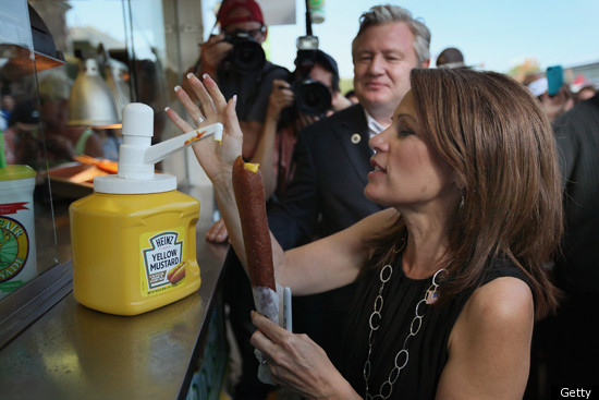 Michele Bachmann Corn Dog