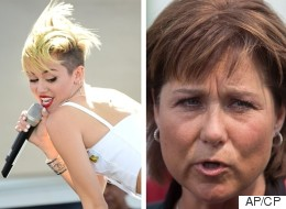 Stick To Twerking: B.C. Premier To Miley Cyrus