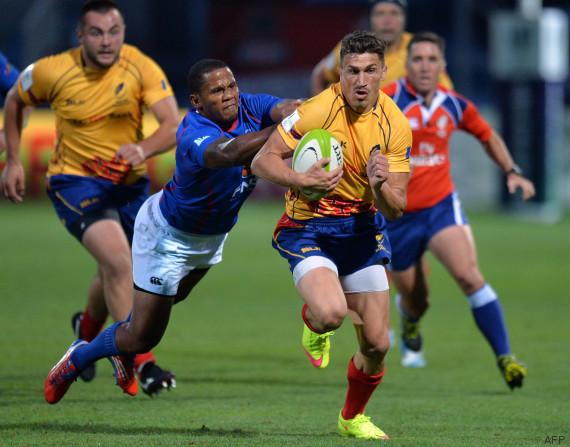 Coupe du monde de rugby la g orgie et la roumanie les - Coupe de france rugby 2015 ...