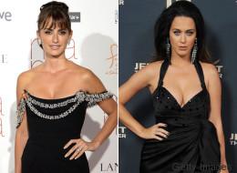 Penélope Cruz y Katy Perry lucieron radiantes en la alfombra roja