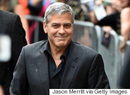 Tapis rouge du TIFF: George Clooney commente le cas de Mohamed Fahmy