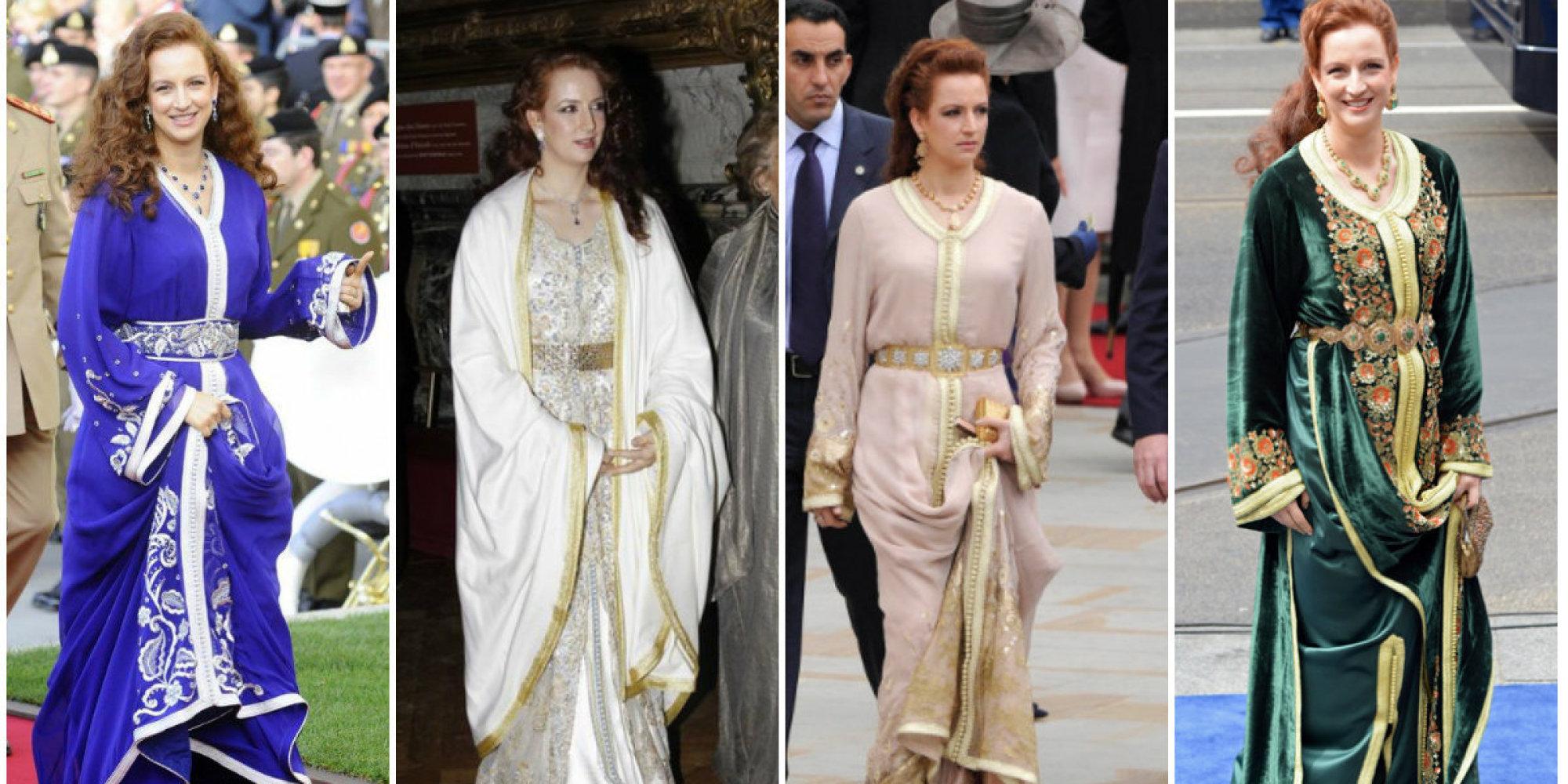 Les plus beaux caftans de la princesse Lalla Salma