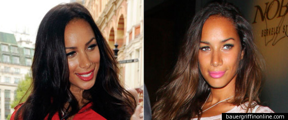 LEONA LEWIS DARK HAIR
