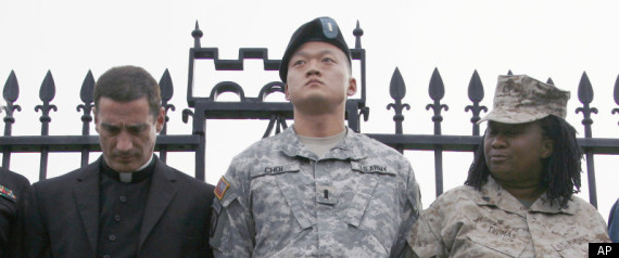 DAN CHOI DADT PROTEST