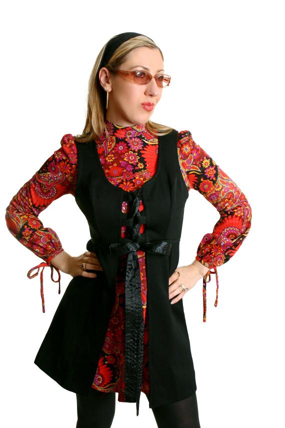 paisley dress