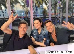 Pausini, Ricky y Sanz fueron los ganadores de 'La Banda'