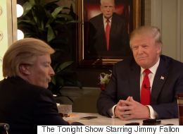 Donald Trump Interviews Himself In The Mirror (With A Little Help From Jimmy Fallon)