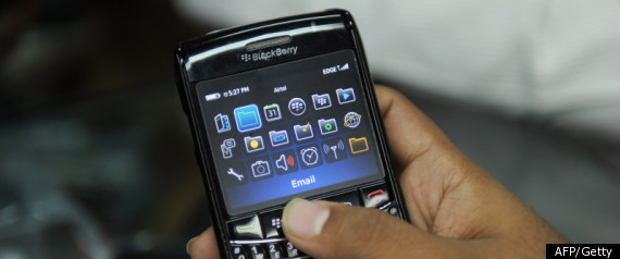 RIM BLACKBERRY MARKET SHARE
