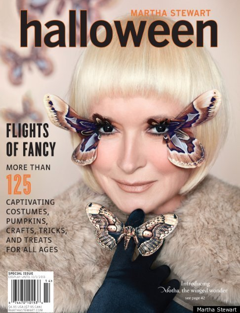 guess who martha stewart on cover of halloween issue