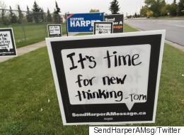 NDP Sends Message To Harper's Riding