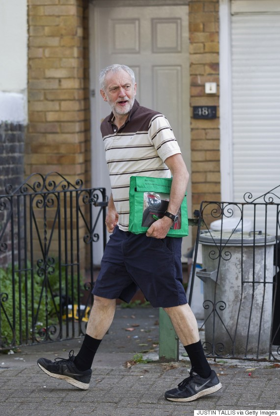 Image result for corbyn shorts