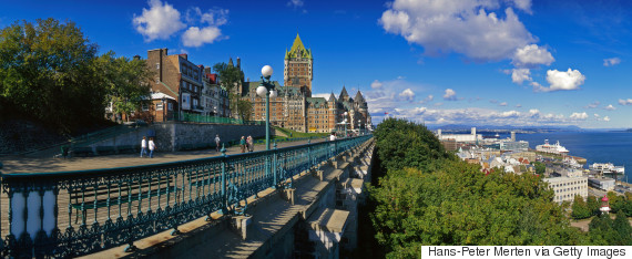 quebec city panorama