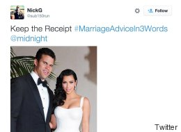 The #MarriageAdviceIn3Words Hashtag Will Put You Off Marriage For Ever