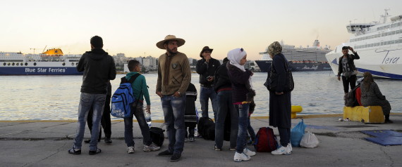 refugies syrien grece