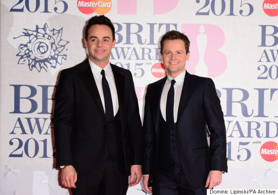 ant and dec brits