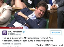 BBC Apologise After Tweeting Photo Of 'Sleeping' Tory MP