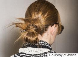 Les chignons décoiffés règnent à la semaine de mode de New York (PHOTOS)