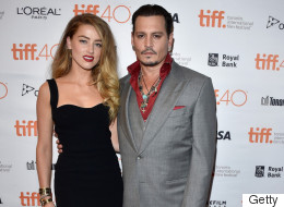 TIFF 2015: Johnny Depp et Amber Heard, un couple uni sur le tapis rouge