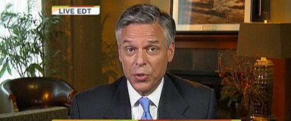 Jon Huntsman Obama Speech