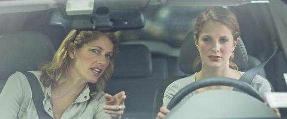 MOM DAUGHTER DRIVING