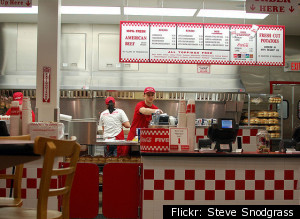 Favorite Fast Food Chains