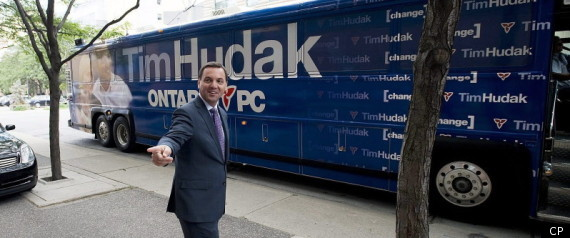 Tim Hudak Ontario Election Majority Poll