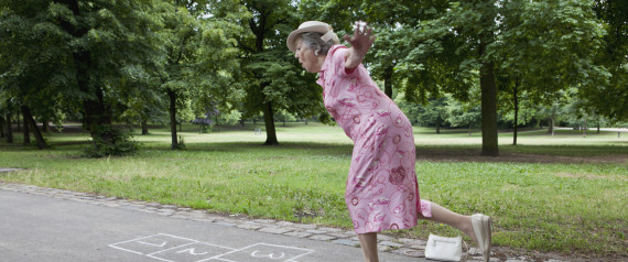 hopscotch lady