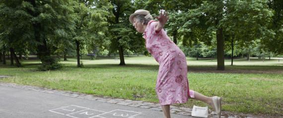 hopscotch lady