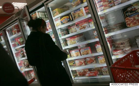 frozen food supermarket