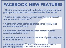 REVEALED: All Of Facebook's New Features