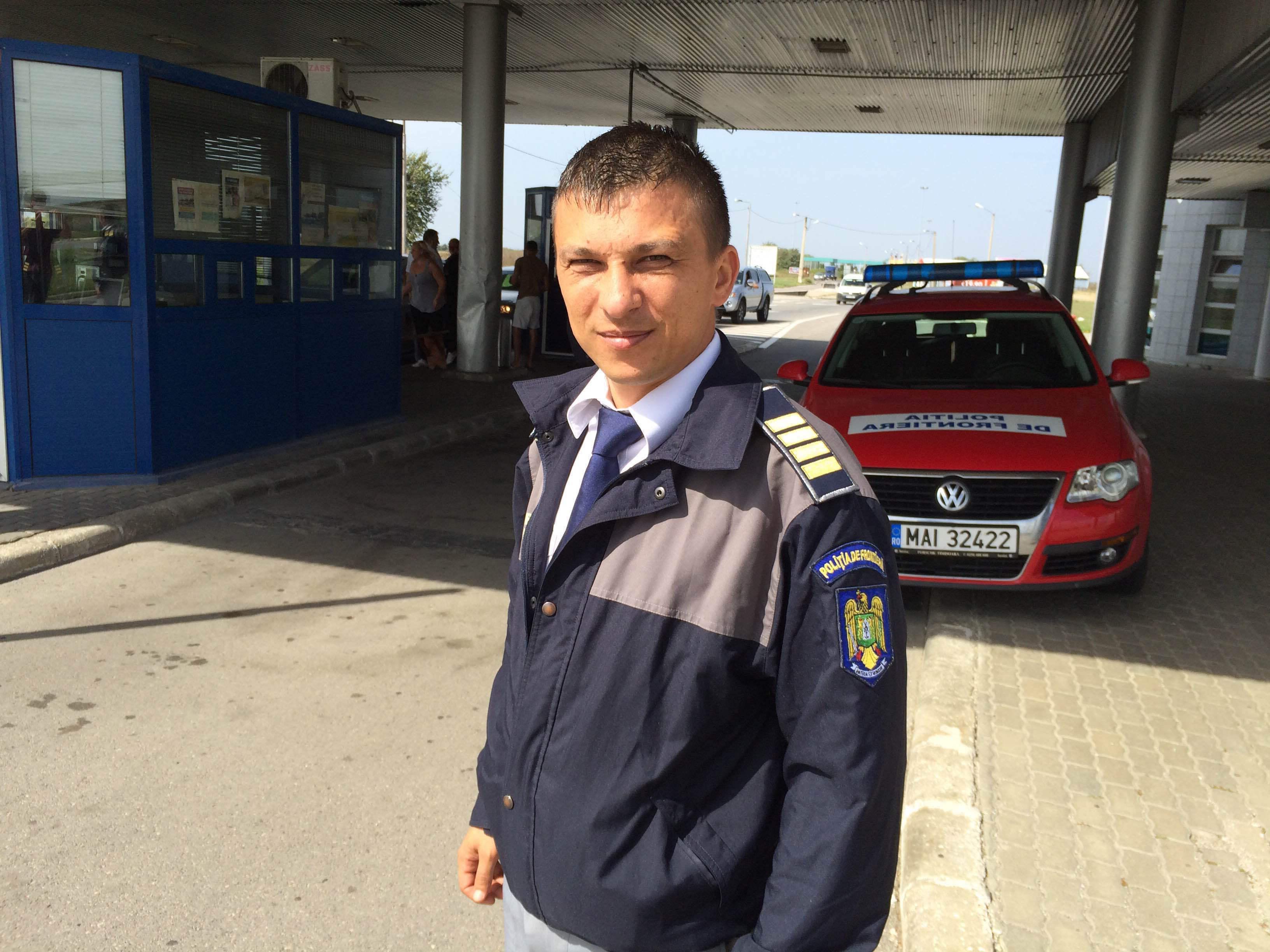 rumaenien polizist