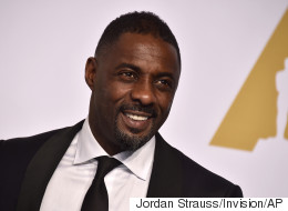 FINALLY! A Video Of Idris Elba Playing James Bond