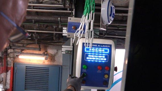 machine à laver métro ratp