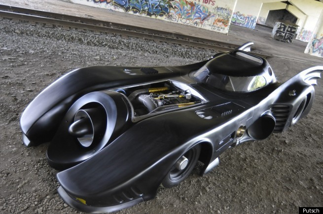 batmobile on sale on ebay for 620 000 video huffpost. Black Bedroom Furniture Sets. Home Design Ideas