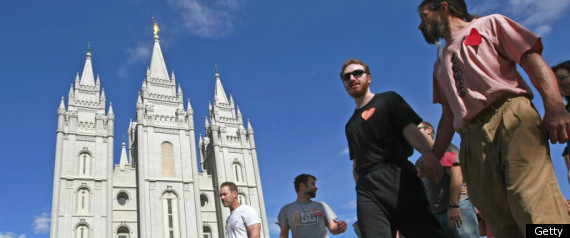 GAY MORMON LEADER