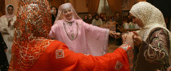 BRIDE IN ALGERIA