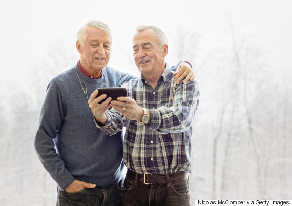 old gay couple