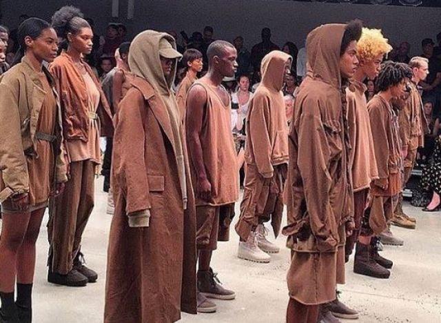 PHOTOS. Kanye West d&#... Kanye West Clothing Line