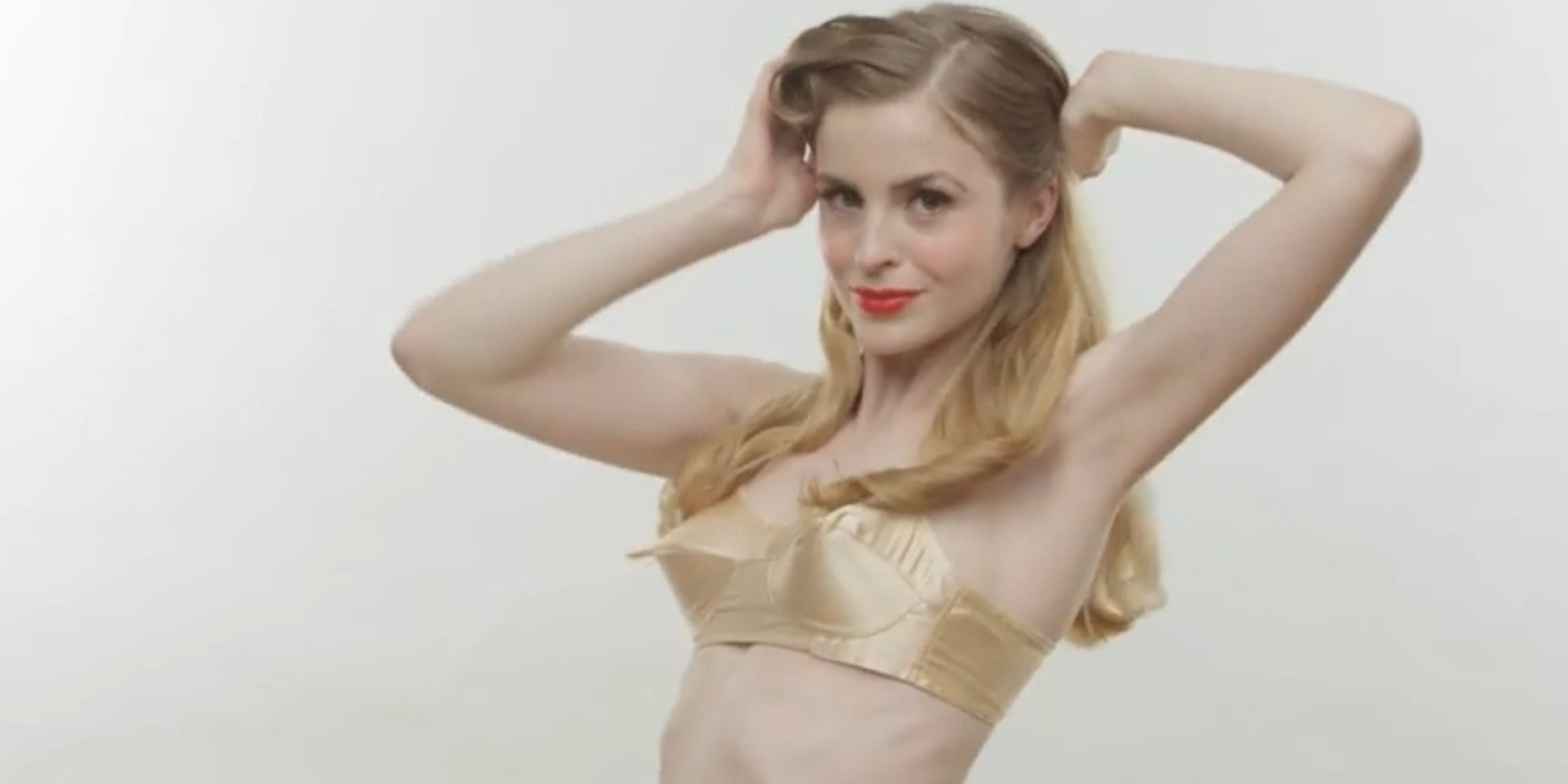 The History Of The Bra: Watch The Amazing Evolution Of ...